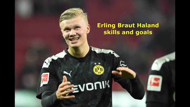 Skills and goals of Erling Haaland/ Скиллы и голы Эрлинга Холанда/ Erling Haaland的技能和目标