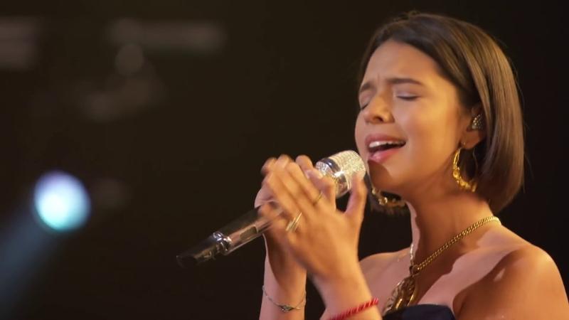 Angela Aguilar Aida Cuevas Natalia Lafourcade La Llorona 2019 GRAMMYs Performance