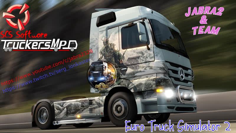 СтримEuro Track Simulator 2Тащим груз 18 3