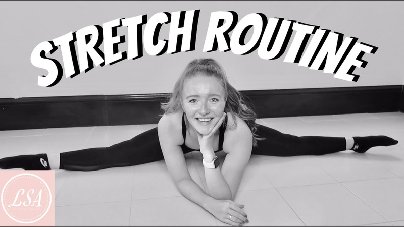 FOLLOW ALONG 15 MINUTE STRETCH ROUTINE FOR DANCERS! Lucy Stewart-Adams