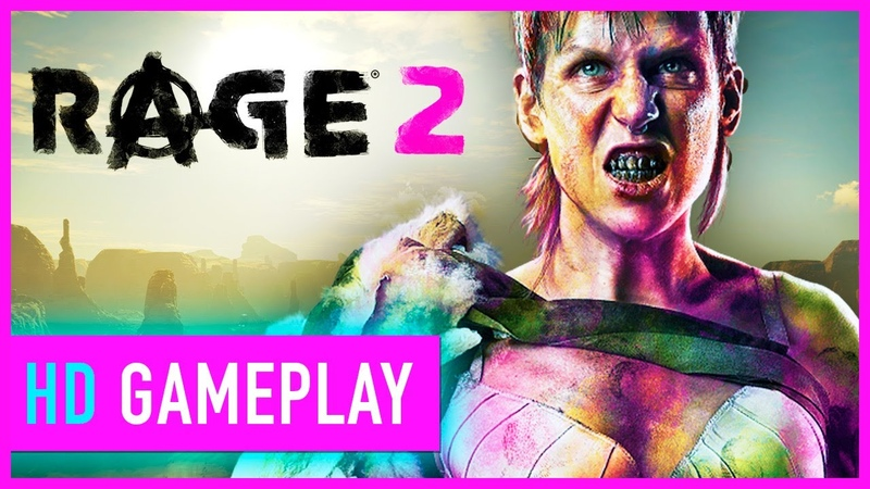 Rage 2 - Tearing Through The Jungle Gameplay