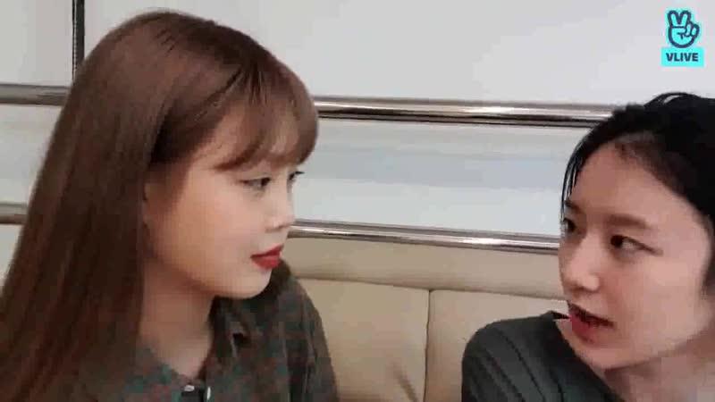 Shuhua about Chaewon feat Yuqi and Yena