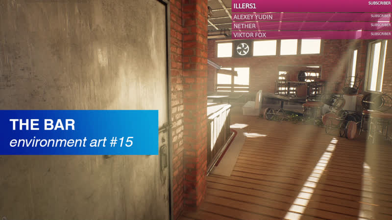 Environment Art 4 UE4 props texturing tv