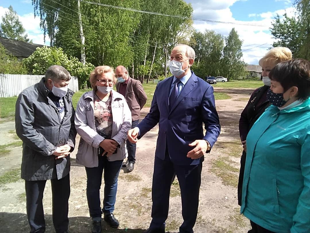 Сегодня Петровский район посещает губернатор области Валерий РАДАЕВ