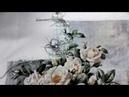 Букет белых роз - отшив схемы Химеры