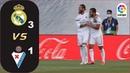 Real Madrid 3-1 Eibar ~ Hasil Liga Spanyol tadi malam Klasemen LaLiga santander juni 2020