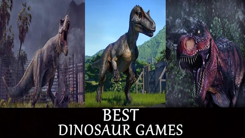 BEST Dinosaur Games I PC PS4 XBOX ONE I