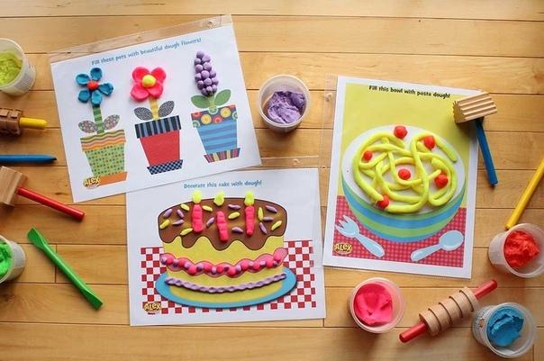 Дети очень любят фантазировать и придумывать Особенно ярко это выражается в работе с художественными материалами! Давайте развивать их воображение! Распечатайте листы-заготовки и вместе с детьми