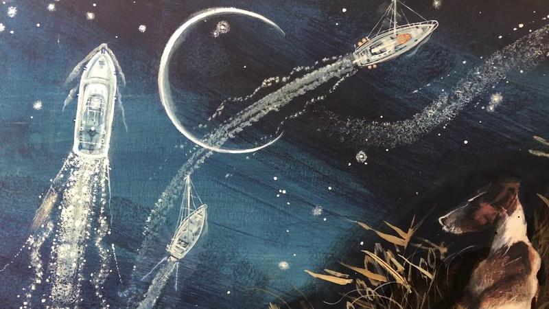 Olga Kataeva-Rochford. Painting. Icarus. The Day Before Flight. 2015-2020