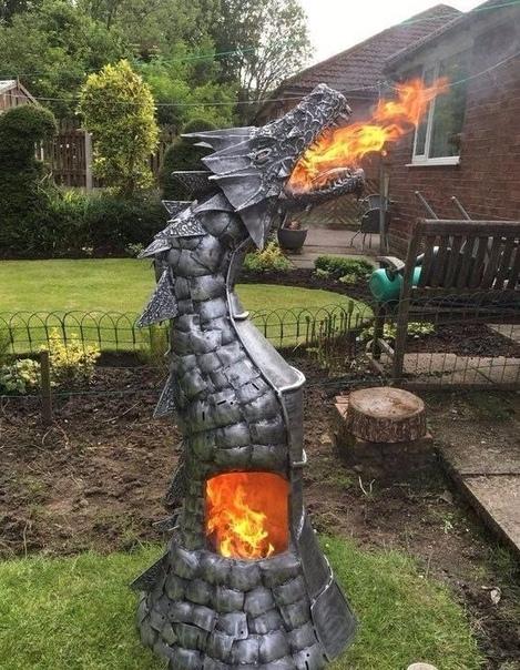 Ух! Печь - огонь! Нравится
