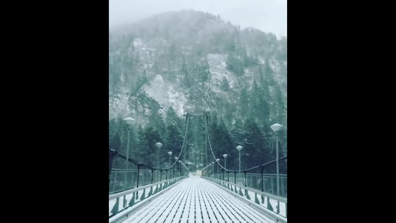 Мост на Бирюзовую Катунь