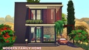 MODERN FAMILY HOME | THE SIMS 4 | Speed Build | NO CC | Stop Motion