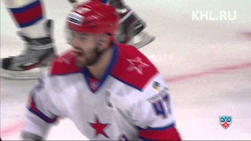 Alexei Marchenko first KHL goal Первый гол Марченко в КХЛ