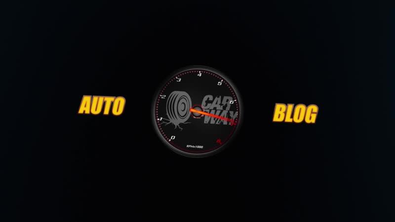 Интро для автоблога You Tube канала Car a Way Анимированный логотип