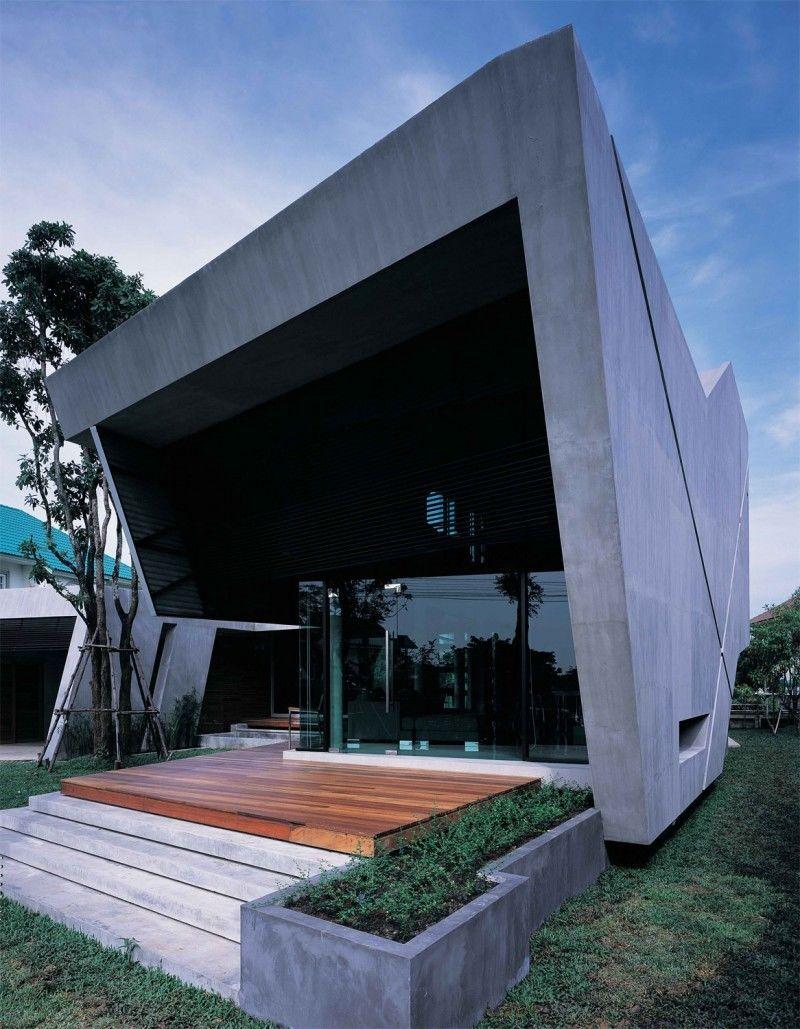 Дом-бункер в Тайланде