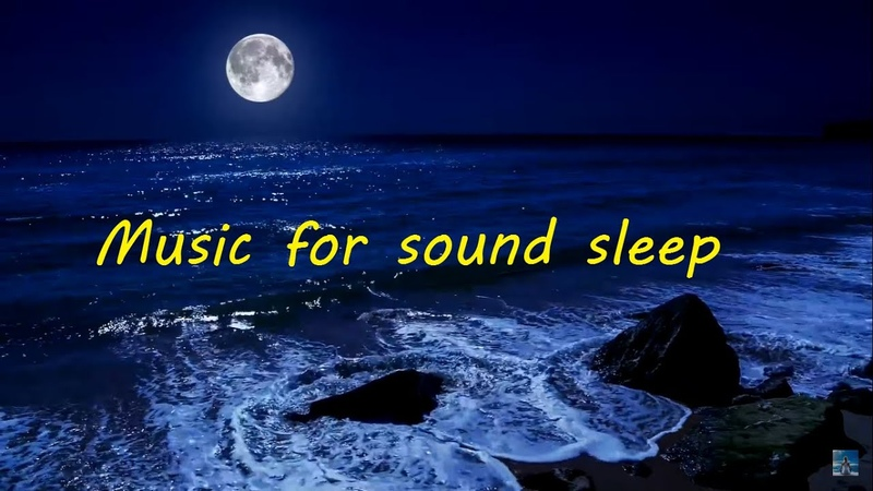 Strong healthyson A nice melody of sea waves on the coast in Fullmoon 8 hours of sleep meditation