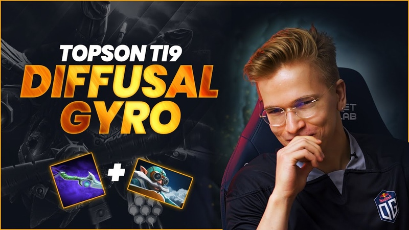 Topson Explains The Famous Diffusal Gyrocopter at TI9 Grand Finals