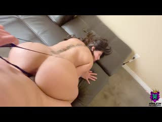 [ Yinyleon ] Big Ass Milf Gets Her Meaty Pussy Creampied After A Hard Pounding
