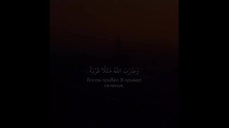 Чтец Abdul Rohman MosadSurat « 16 - an 'Nahl »