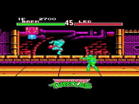 Денди Nes Mutant Ninja Turtles Tournament Fighters