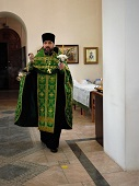 Косырёвцы поздравили своего духовника с Днём рожденья