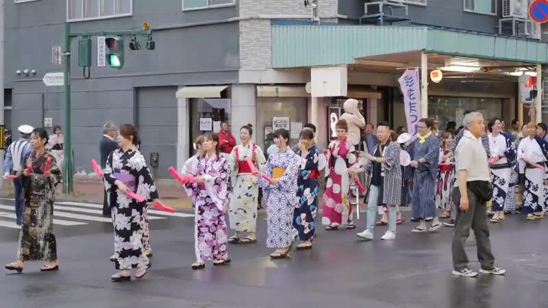 いわみざわ彩花まつり2019 観光踊り