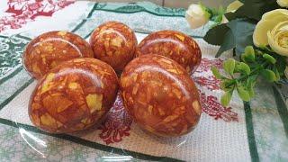 МРАМОРНЫЕ ПАСХАЛЬНЫЕ ЯЙЦА Пасхальные Яйца Easter Eggs Как Покрасить Яйца