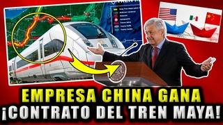 ¡DE ÚLTIMO MINUTO! INICIA LA CONSTRUCCIÓN DEL TREN MAYA, EMPRESA CHINA INICIA EN ABRIL AMLO ¡CUMPLE!