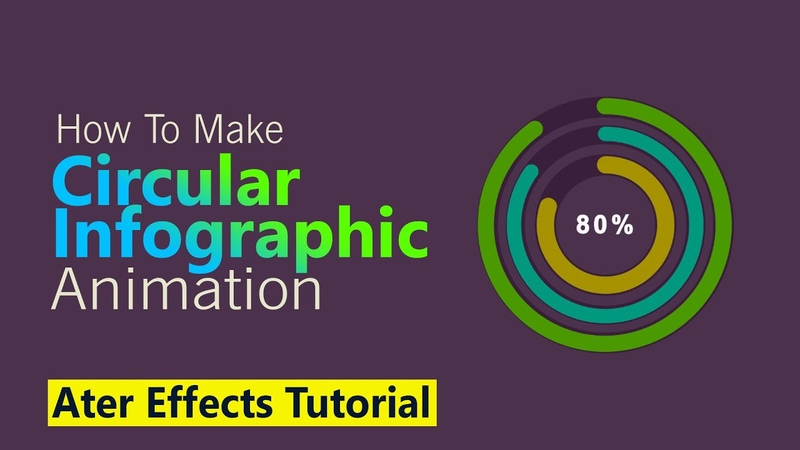 After Effects How to Make a Circular Infographic