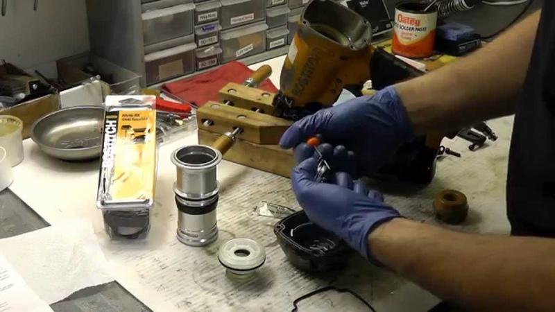 Air Nailer O Ring Kit Install