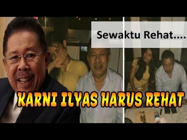 Karni Ilyas Harus Rehat