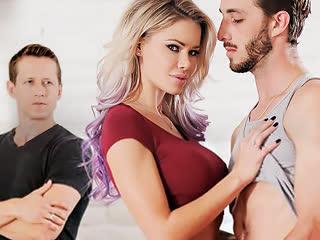 Jessa Rhodes, секс, ебля, трах, минет, куни, пиздолиз, большие сиськи, лижет киску, измена, порно [FULL HD 1080 Sex porno]