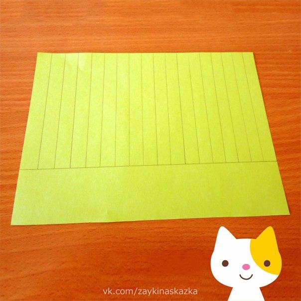 ЦВЕТЫ В ГОРШОЧКЕ Поделка из бумагиПонадобятся:цветная бумагаклеящий карандашножницылинейкапростой карандашбаночка из-под