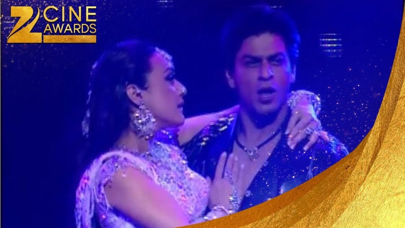Zee Cine Awards 2005 SRK Preity Zinta Dance