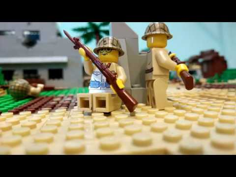 Lego WW2 Malay operation . Part 2. Stop Motion.