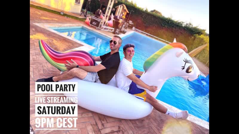 Giuseppe Ottaviani Pool party lockdown session B2B with Hypaton76