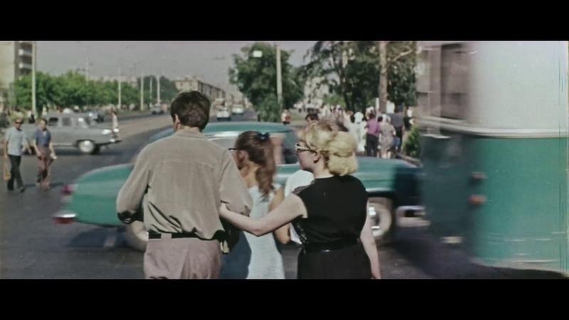 Новосибирский горизонт Фильм о Новосибирске СССР 1969 год