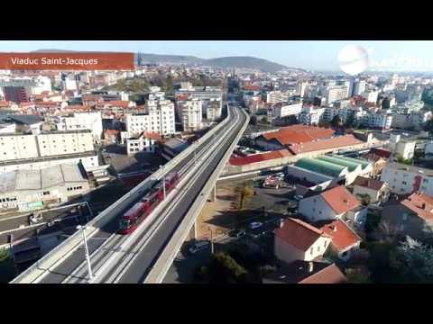 Clermont Ferrand Le confinement vu par drone