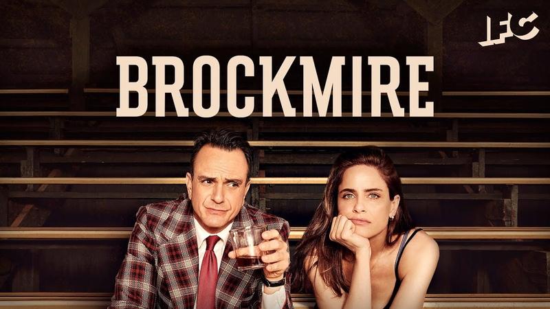 'Brockmire' Stars Amanda Peet Hank Azaria Reflect on Series Finale and Onscreen Chemistry
