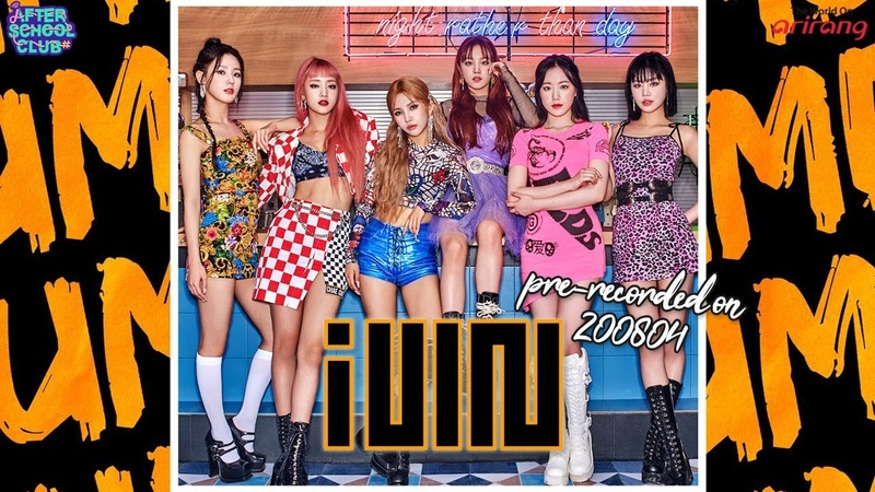 LIVE After School Club G I DLE 여자 아이들 has come back with their song 'DUMDi DUMDi 덤디 덤디 '