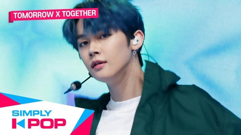 [Simply K-Pop] TOMORROW X TOGETHER(투모로우바이투게더) _ Angel Or Devil Run Away(9와 4분의 3 승강장에서 너를 기다려)