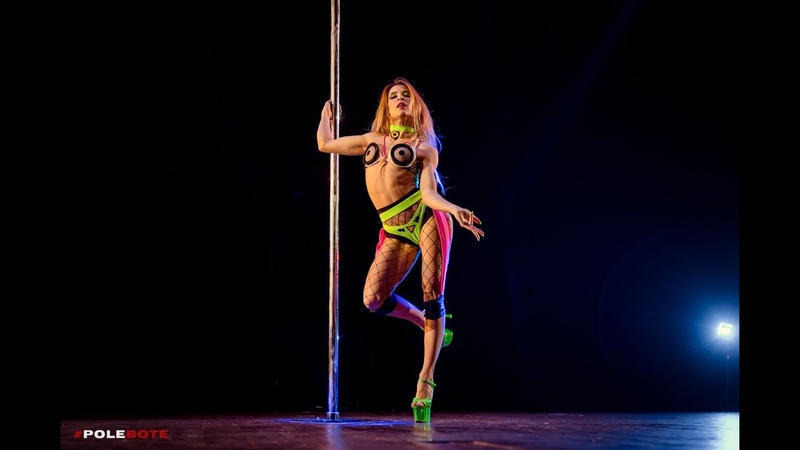 EXOTIC HARD WINNER POLE DANCE WORLD ALENA KUZMINA EXOTIC GENERATION 2019