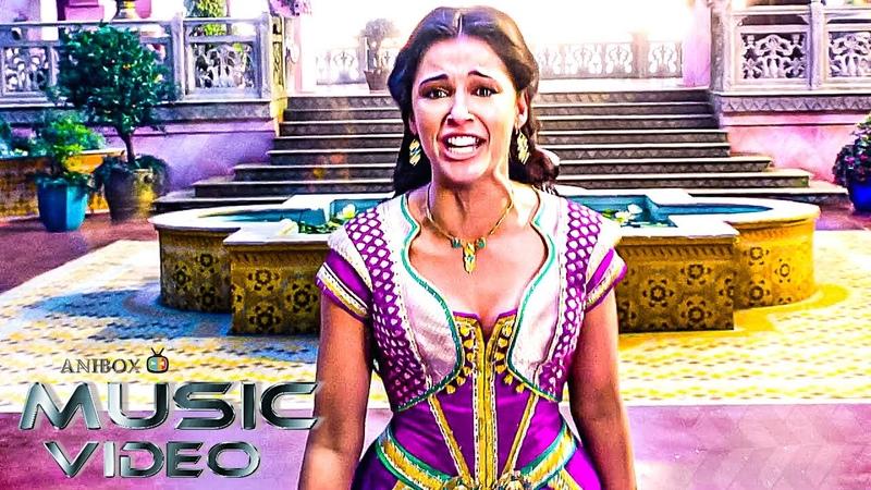 Disney ALADDIN 'Princess Jasmine's Speechless' Official Music Video NEW 2019 Disney Live Action HD