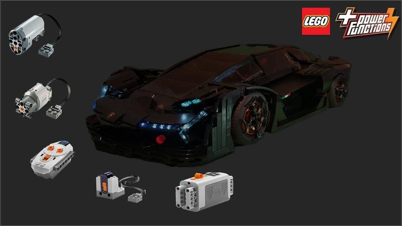 LEGO Lamborghini millennio terzo 2020
