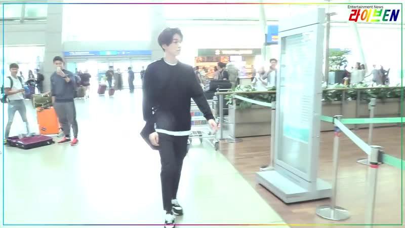 CBCSTAR LeeDongwook Incheon airport departure