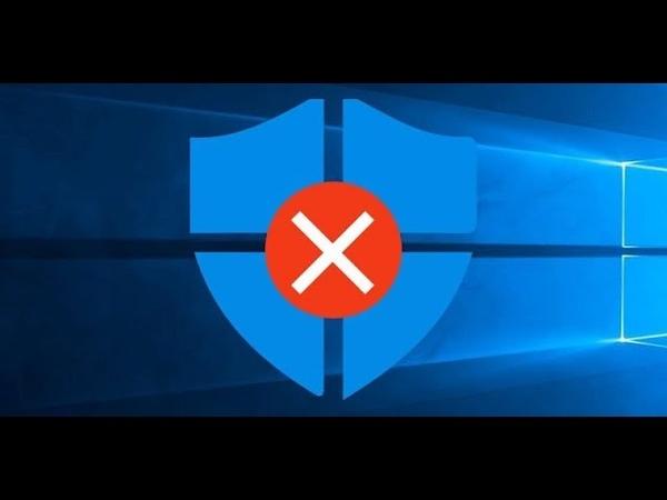 Как НАВСЕГДА отключить защитник Windows 10 за 3 минуты Disable Windows Defender
