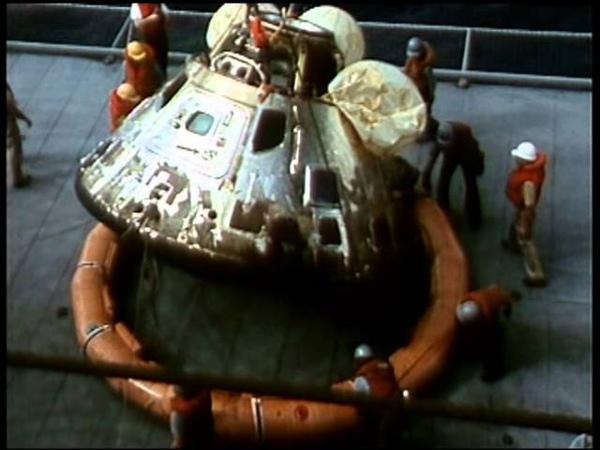 Apollo 11 Spacecraft Retrieval 1969