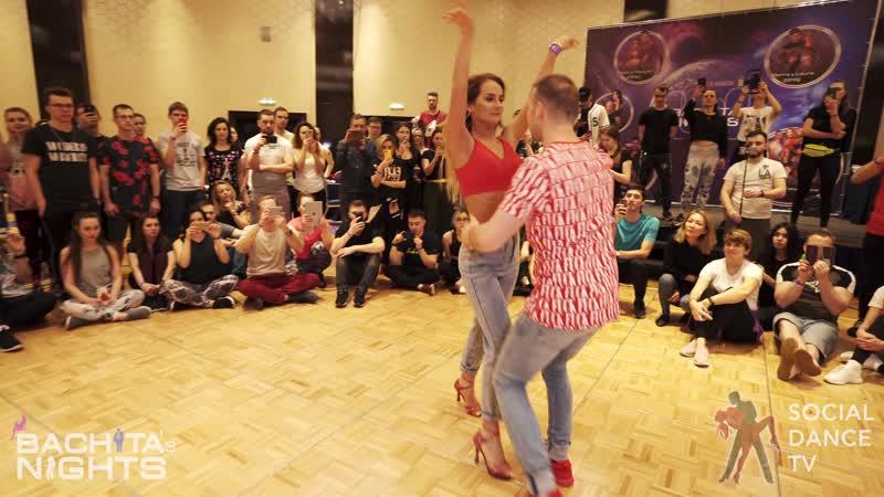 Arkadiy Rina Bachata workshop Bachata's Nights 2020 Moscow Russia