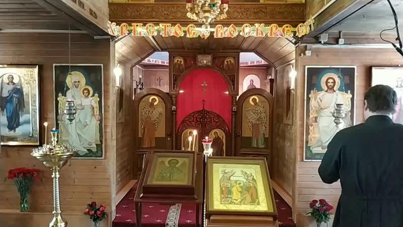Божественная Литургия Перенесение мощей святителя и чудотворца Николая из Мир Ликийских в Бар