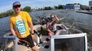 Первый раз катаюсь на вейкборде губернский яхт-клуб КОМАТЕК GoPro Hero 7